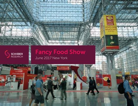 food  beverage trends  fancy food show