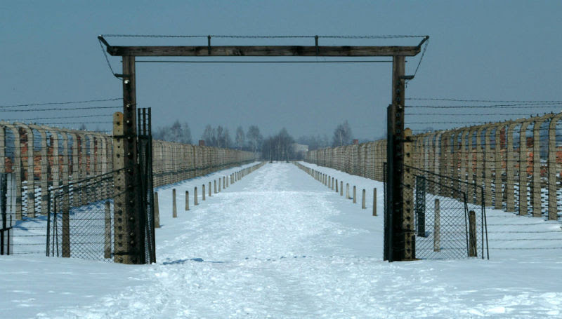 File:Birkenau Walk of Death.jpg