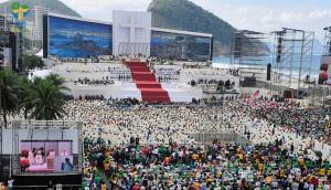Jornada Mundial da Juventude no Brasil termina com Missa de Envio / Foto: Arquivo CN