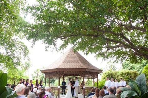 mounts botanical garden wedding   west palm beach, fl