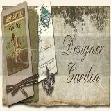 Designer Garden Button