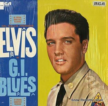 PRESLEY, ELVIS g.i.blues