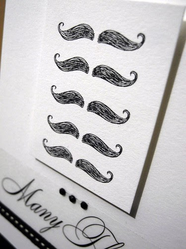 Mustache Thanks (detail)