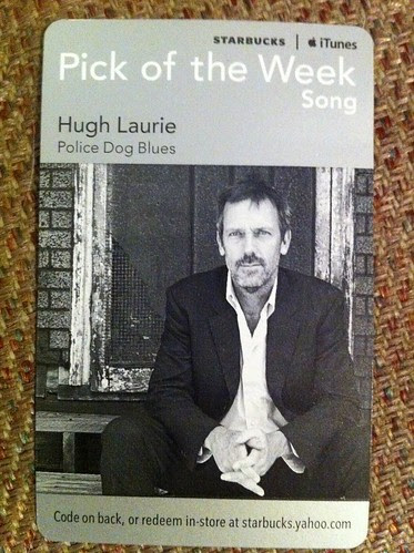 Starbucks iTunes Pick of the Week - Hugh Laurie - Police Dog Blues