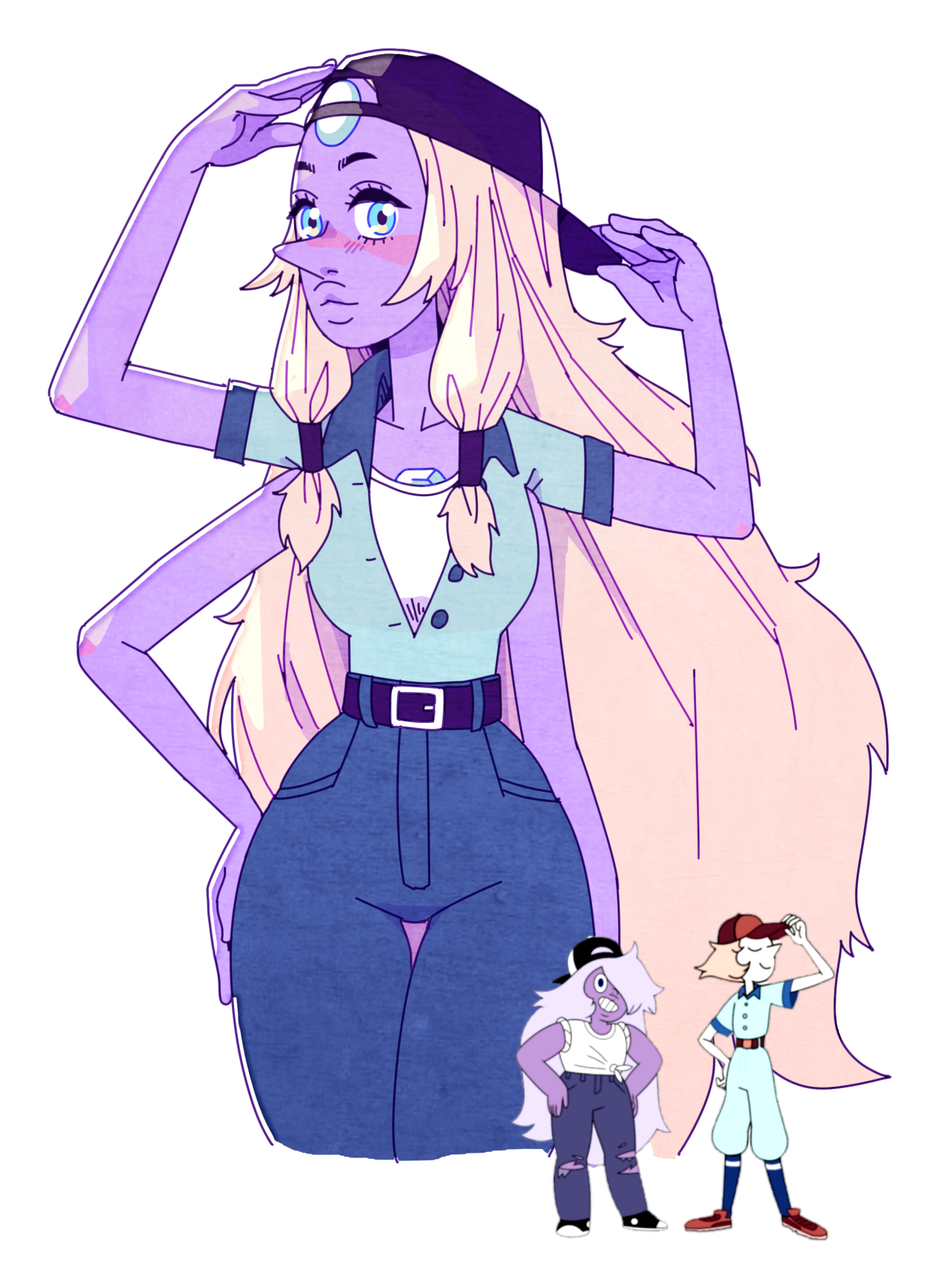 opal outfit meme #1!! i had to draw four hands …