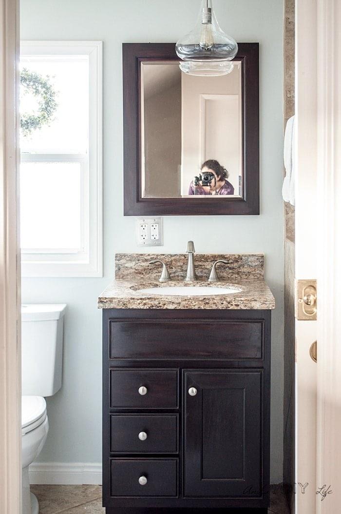 Get Inspired For Bathroom Makeovers Diy wallpaper