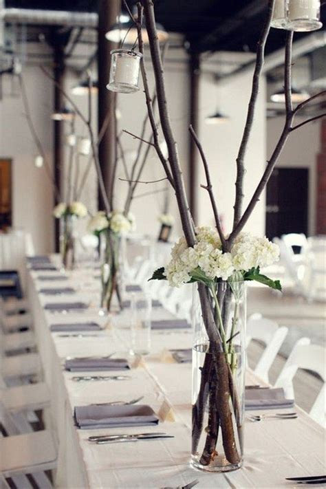 30 Rustic Twigs and Branches Wedding Ideas   Rustic