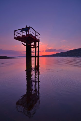 Inverness Marina - Sunset  by Michael~Ashley