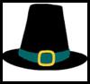 Pilgrim<br />  Hats  : Disposable Plates Arts & Crafts