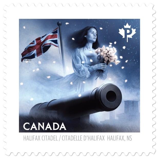 Citadel Grey Lady stamp