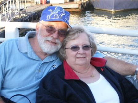 Mom and Dad on Harbor Cruise 2007