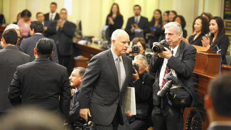 Gov. Jerry Brown opposes $9-billion school bond measure