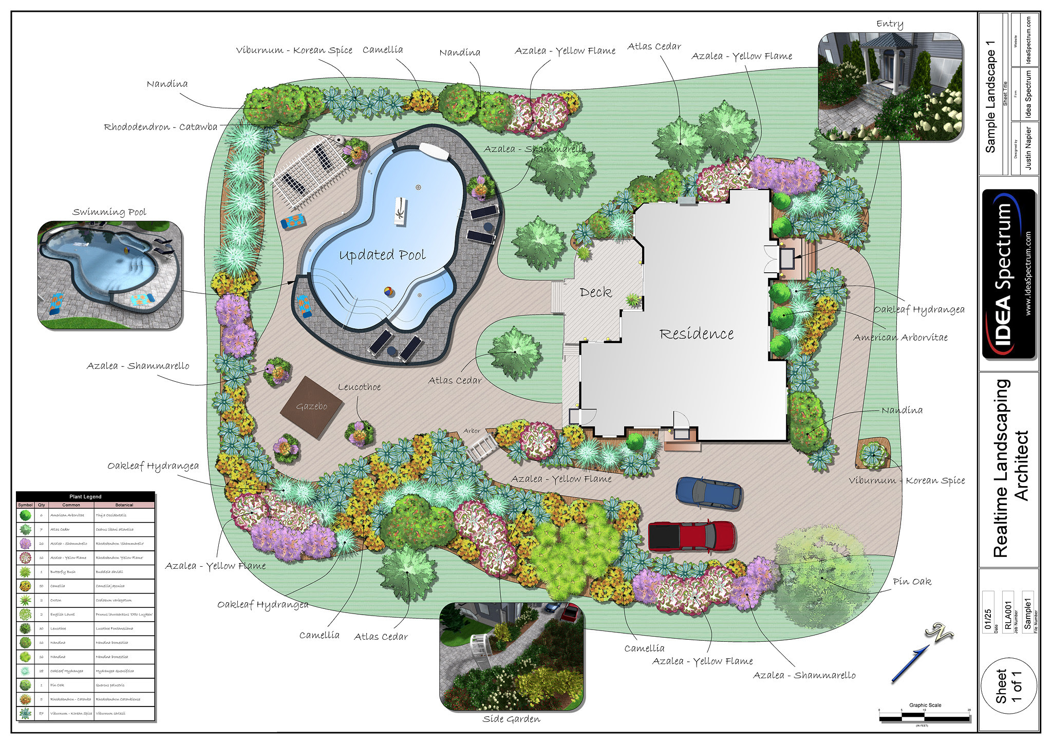 Scape Ideal: Backyard landscaping templates