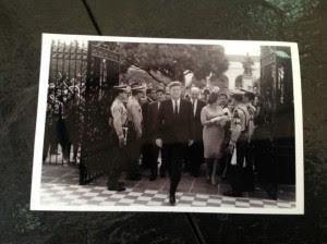 La foto de ayer John F. Kennedy