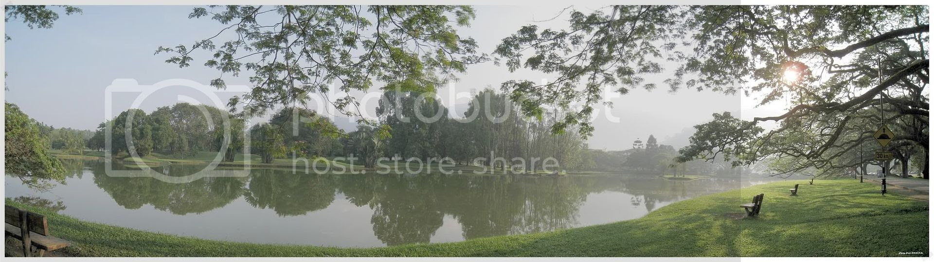 Taiping Lake Garden Panorama View
