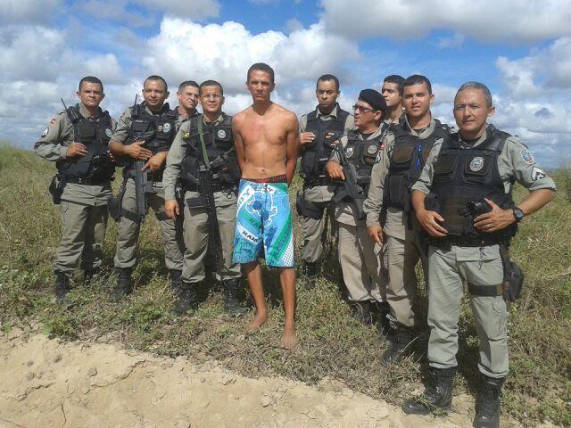 Homem estava foragido desde ontem (Foto: Divulgação)