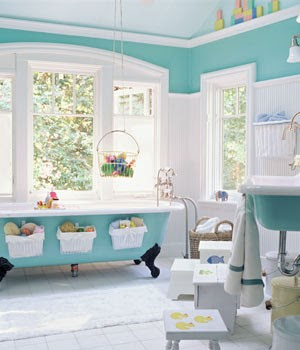 Favorite Paint Color For A Unisex Bathroom Watery By Sherwin Williams