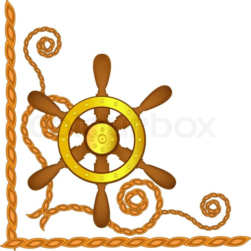 Ship Steering Wheel Drawing At Getdrawingscom Free For Personal