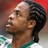 O palmeirense Keno comemora gol contra o Sport