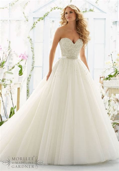 Tulle ball gown, Tulle balls and Satin color on Pinterest