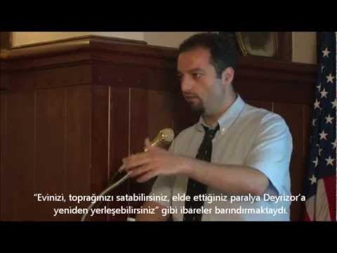 Prof. Uğur Üngör Ermeni Soykırımı Sırasında Yaşanan Haciz Olaylarını Anlatıyor - (2012)