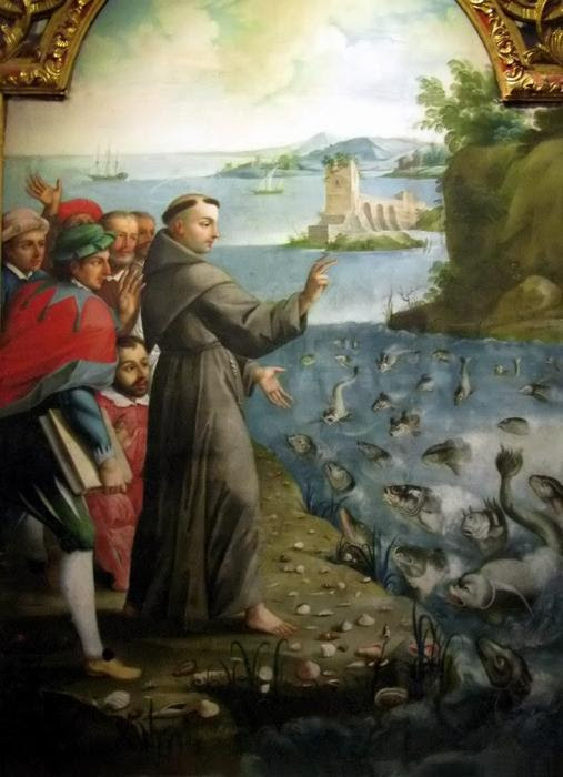 Cá nghe thánh Antôn giảng (xem tích)
