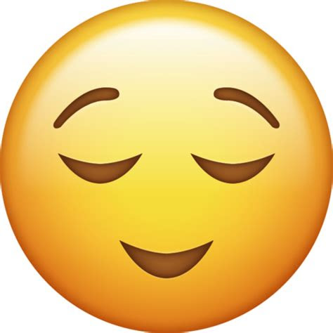 relieved emoji png