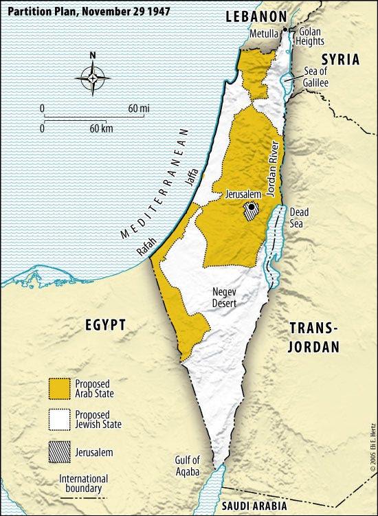 1947 israel partition plan UN