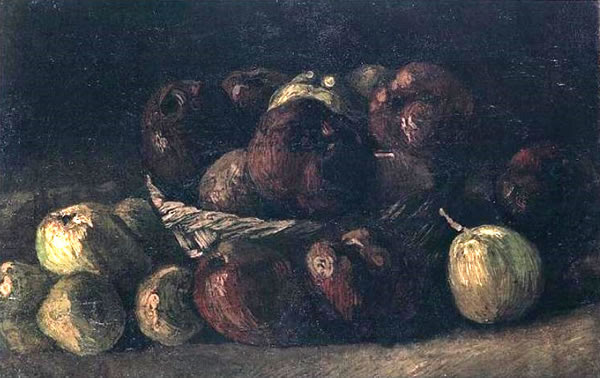 Still Life with a Basket of Apples