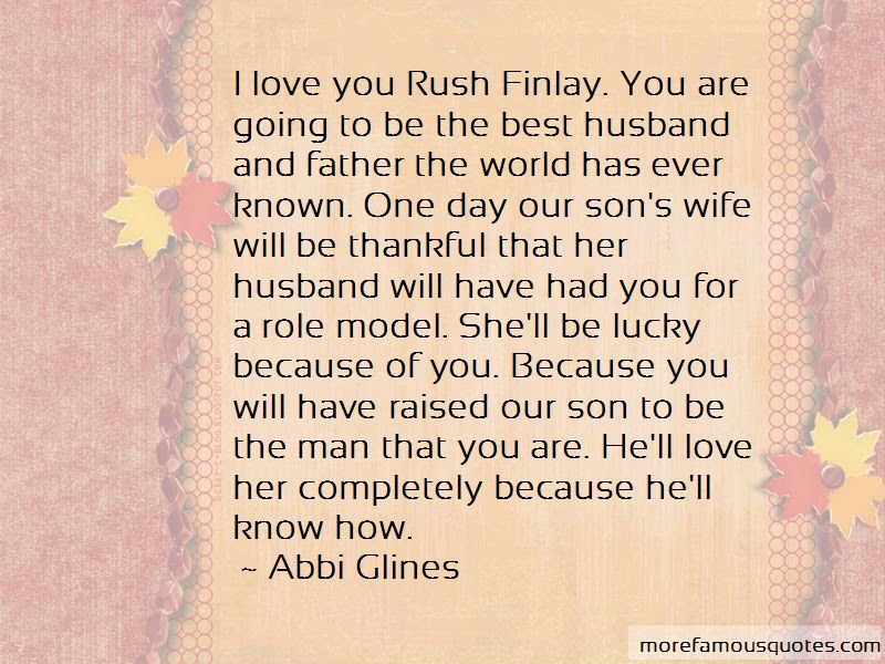 50+ Great Quotes About Loving Your Husband And Son