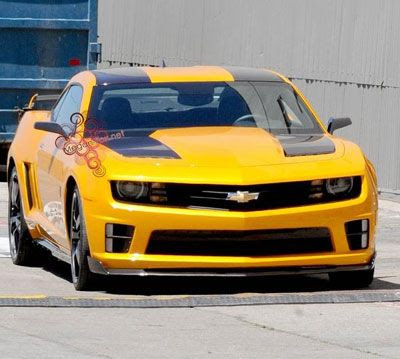 The 2011 Chevy Camaro that will be the vehicle mode for BUMBLEBEE in Transformers 3.