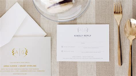 Simple Wedding Invitation Ideas for the Minimalist Bride