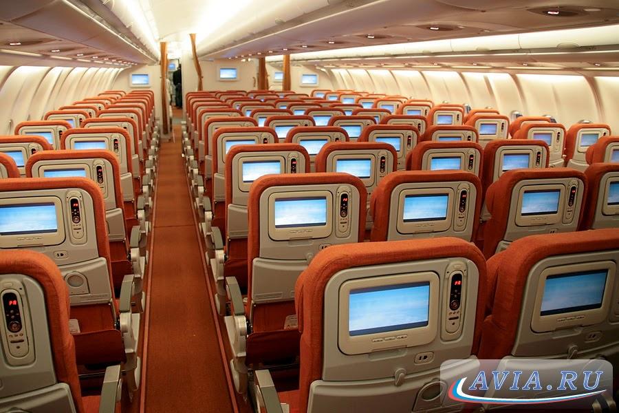 Business Flight Aeroflot Airbus A330 Cabin Interior Photos