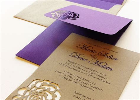 3N Events   Beautiful Wedding Invitation Cards