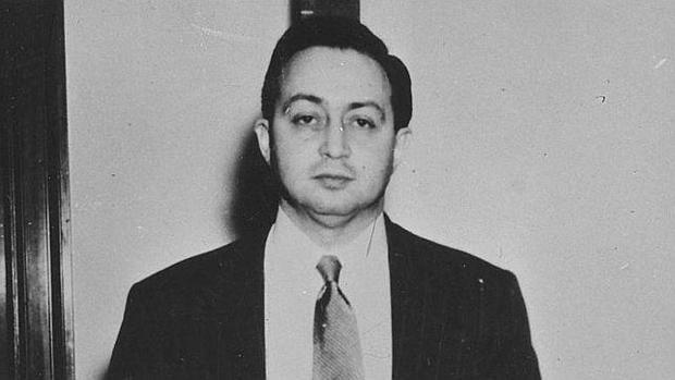 El espía Harry Gold, en el momento de ser detenido