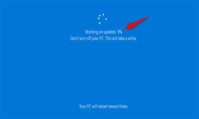 Actualización de Windows 10 cuando se guardan archivos y / o configuraciones de Windows 7 / 8.1