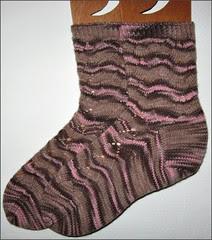 Little Monkey Foo Foo socks, complete
