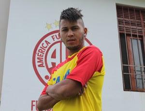 Reis, novo meia-atacante do América-RN (Foto: Canindé Pereira/Divulgação)
