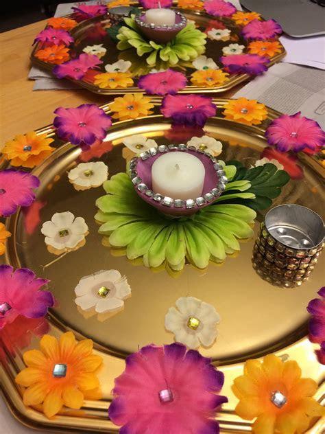 Mehndi plates    Wedding   Mehndi decor, Wedding