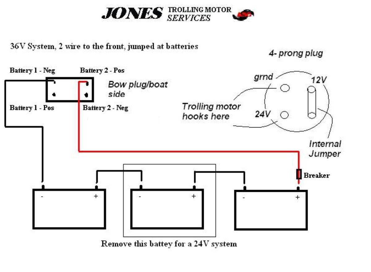 Trolling Motor Wiring Diagram 24 Volt - Wiring Diagram