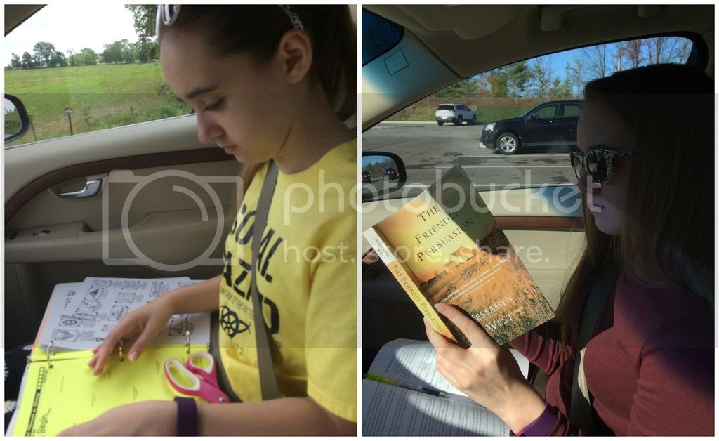 Unexpected Homeschool: Drive time schooling