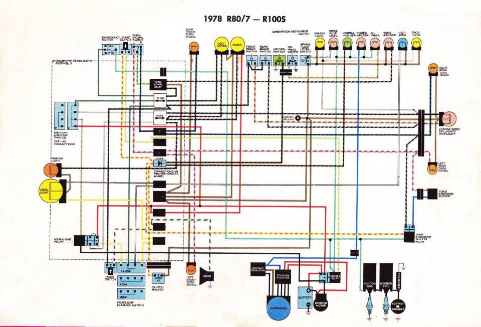 Bmw R65 Wiring Diagram | Bmw R65 Motorcycle Wiring Diagrams |  | Wiring Diagram Maker