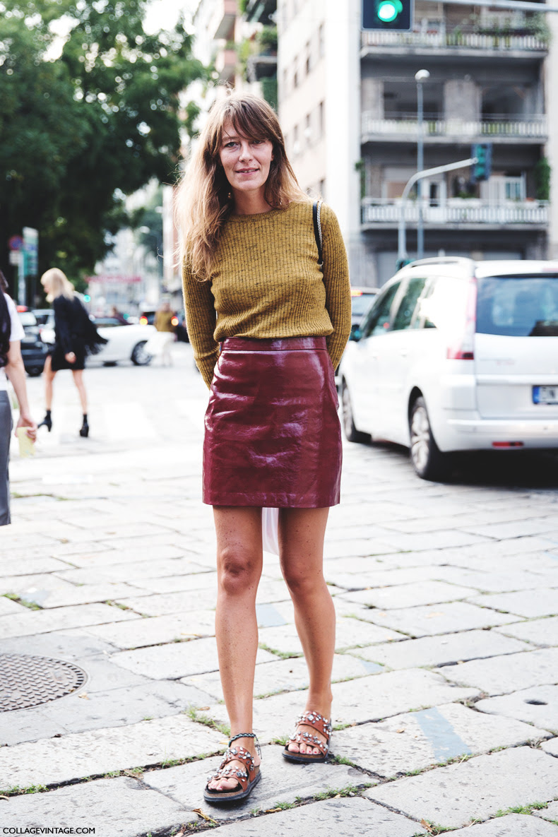 New_York_Fashion_Week_Spring_Summer_15-NYFW-Street_Style-Red_Skirt-Zara_Outfit-