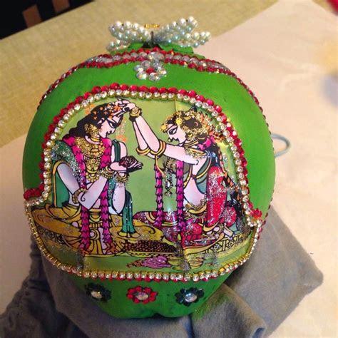 Latest Coconut kobbari bondam designs for wedding   SHAPE