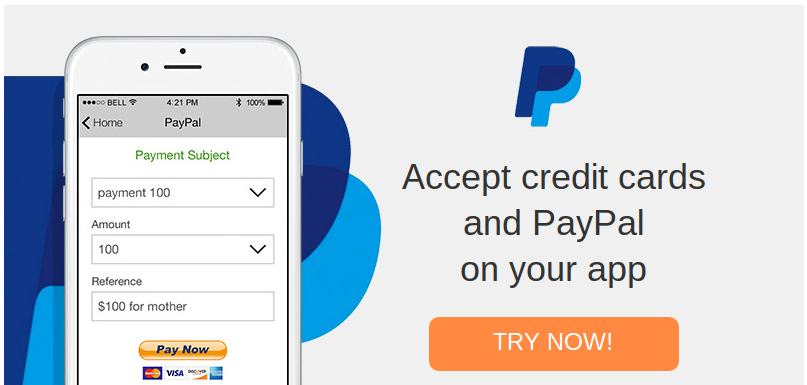 Accept Credit Card Payments with PayPal account login ...