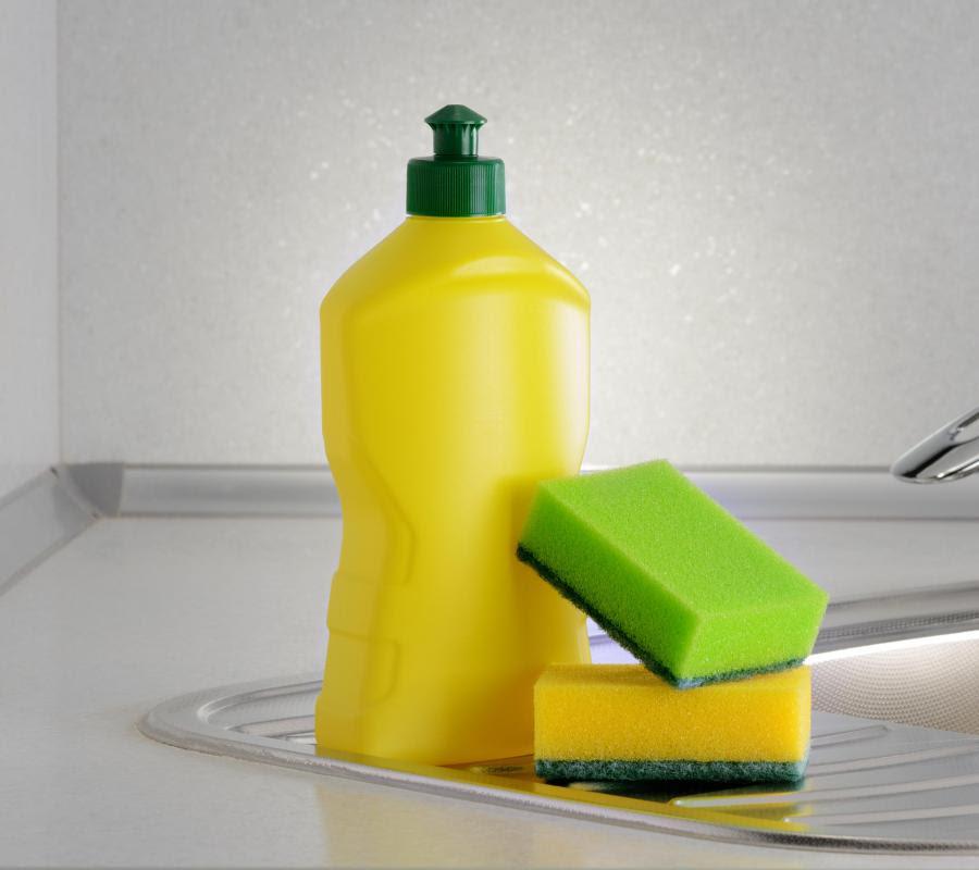 soap on sink