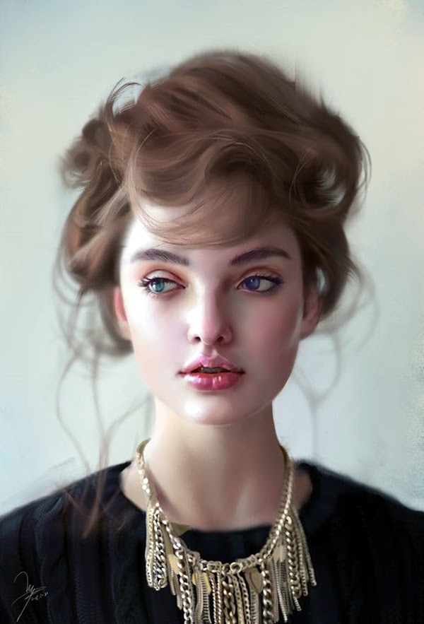 Spectacular Digital Painting Portraits (29)