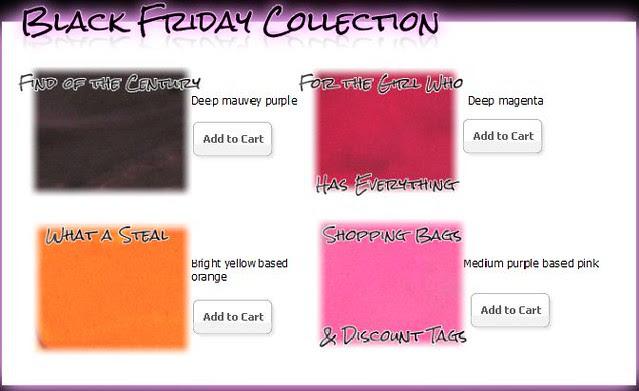 Venomous Cosmetics Black Friday Collection Lip Poisons