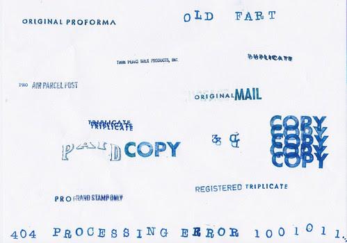 Stamp art 20110227
