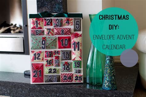 How To Make A DIY Envelope Advent Calendar for Christmas